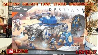 DESTINY GOLIATH TANK STRIKE UNBOXING...!!! #megaconstrux #destiny #unboxing