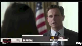 Promo canadienne de l'épisode Icarus de Scandal (3.06)