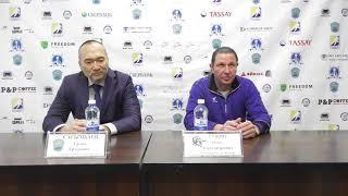 Пресс-конференция «Алтай Торпедо» - «Кулагер», 2 этап
