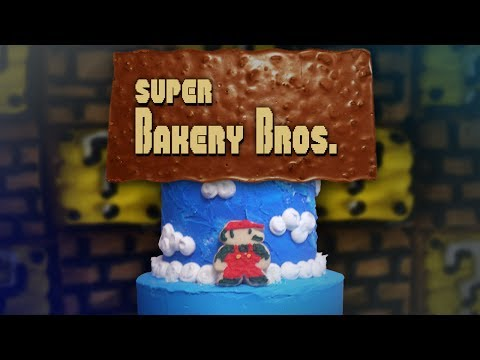 Check Out This Stop Motion Animation Video Of Super Mario Bros. Level 1-1…On A Cake