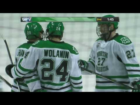 UND hockey - Highlights vs Minnesota Duluth - 1/21/17