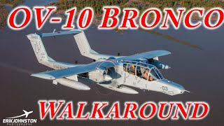 OV-10 Bronco Walkaround Fort Worth Aviation Museum