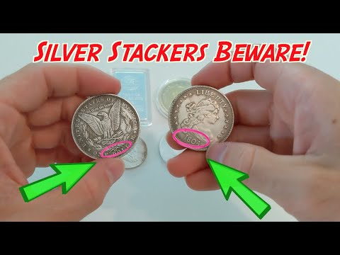 Avoid Buying These Sophisticated Fake Silver Coins