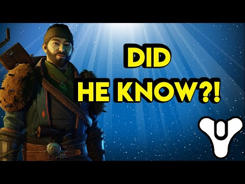 The Drifter and Shin Malphur Destiny 2 Lore | Myelin Games