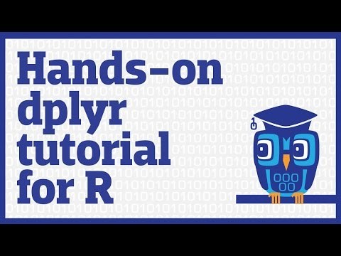 Hands-on dplyr tutorial for faster data manipulation in R