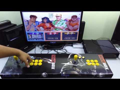 Fliperama Multijogos & Controle Arcade,  para PC e os videogames escolhidos.