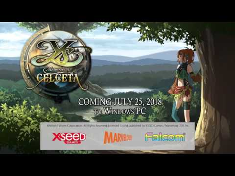 Ys: Memories of Celceta (PC) - Launch Date Announcement thumbnail