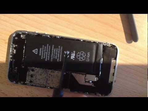 Akku ersetzen beim iPhone 4 - Anleitung