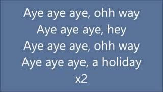 Holiday Akon ft DJ Antoine with lyrics