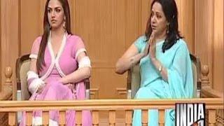 Hema Malini with Esha Deol in Aap Ki Adalat (Part 2) - India