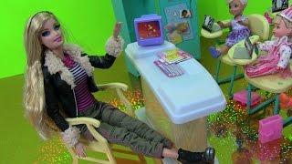 ❤Đồ Chơi Lớp Học Barbie & Mở Barbie Fashion Mới ❤Barbie's Classroom Toys Playset & Baby Kelly