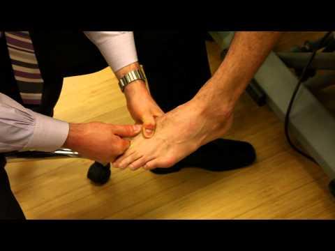 Guz duży palec u nogi