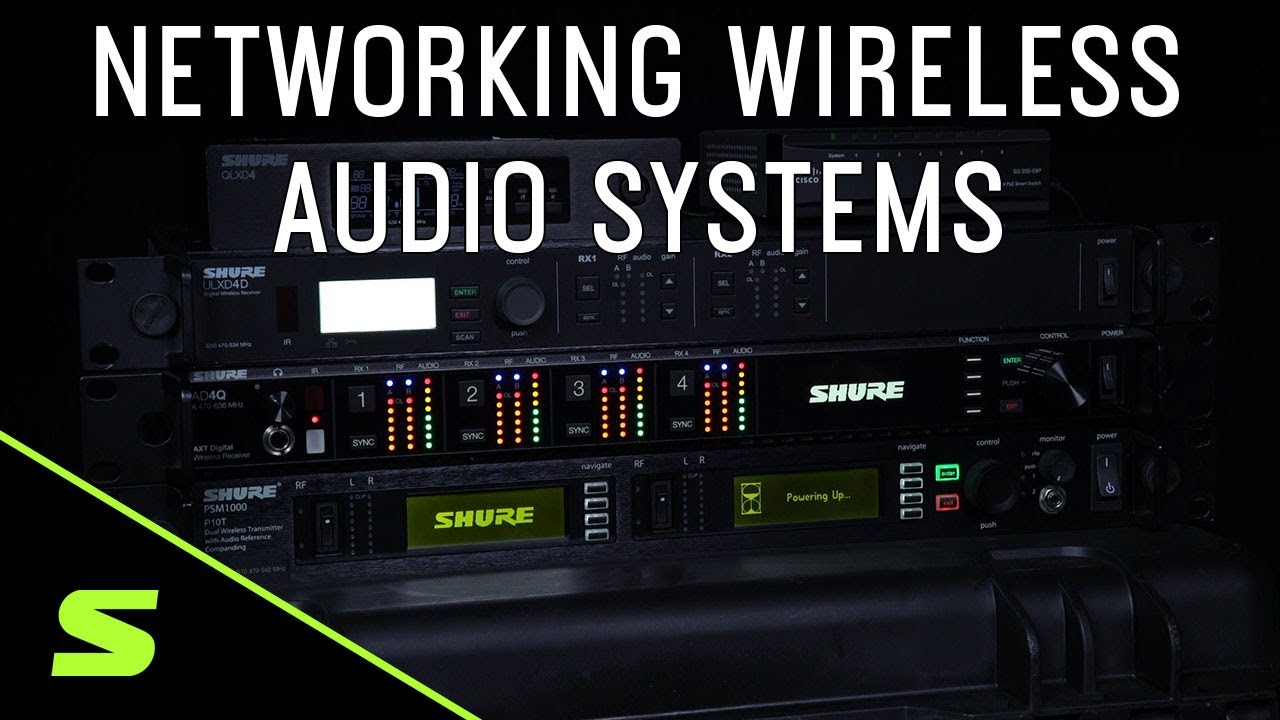 Networking Wireless Audio Systems – The Basics