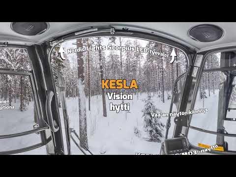 KESLA Vision -hytti 360 astetta sisältä FIN