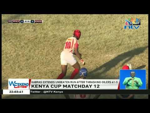 Kenya Cup: Kabras extends unbeaten run after thrashing oilers 41-5