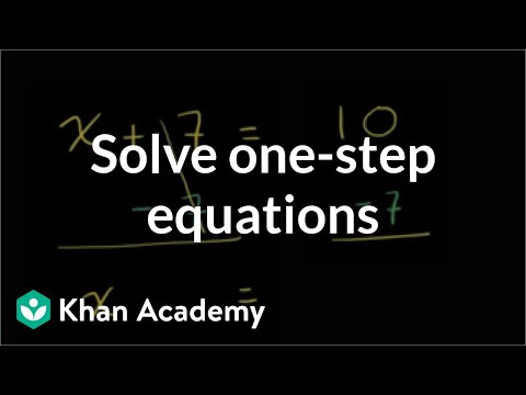 (6.EE.B.7)One-step addition and subtraction equations with fractions and decimals