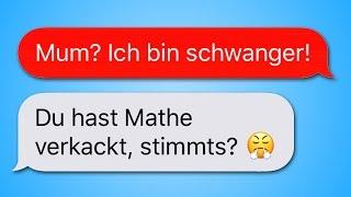 Die 18 witzigsten WhatsApp CHATS von SCHÜLERN!!