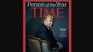 """Дональд Трамп - """"Человек года"""" по версии """"Тайм"""""""