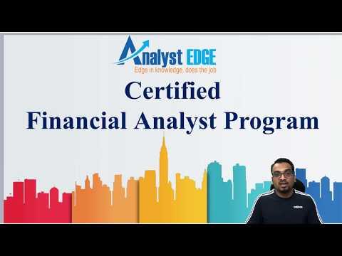 Finance Certifications | Certified Financial Analyst Program | For ...