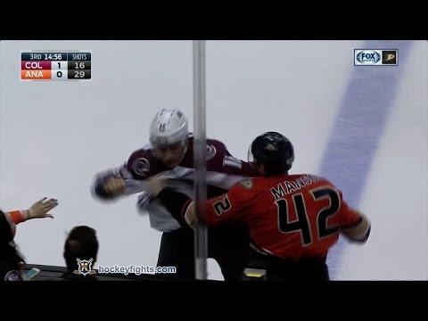 Josh Manson vs. Nikita Zadorov