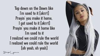 Rule The World   2 Chainz Ft. Ariana Grande (Lyrics) 🎵