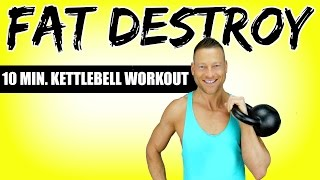 "KETTLEBELL WORKOUT ""FAT DESTROY"" 