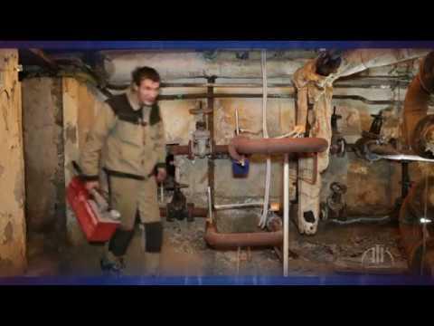 Опрессовка системы отопления в многоквартирном доме.