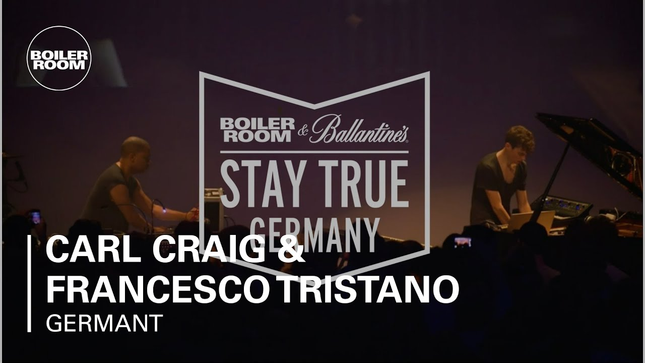 Carl Craig & Francesco Tristano - Live @ Boiler Room & Ballantine's Stay True Germany Live Set