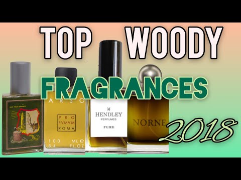 Top woody fragrances