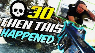 OMG I Got 30 Kills Then This Happened...🙃😂 COD Warzone Ultimate Fail