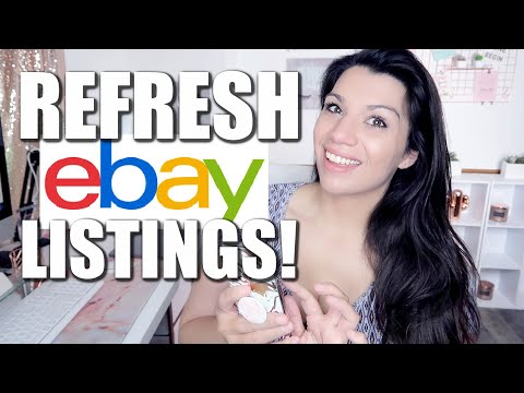 , title : 'Refresh Your eBay Listings to INCREASE SALES! How to Do it & Why it is So Important!