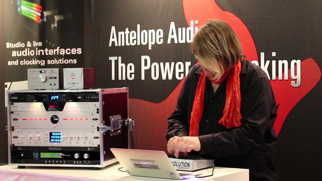 Robert Babicz - Live Performance @ Antelope Audio Booth, Musikmesse 2014