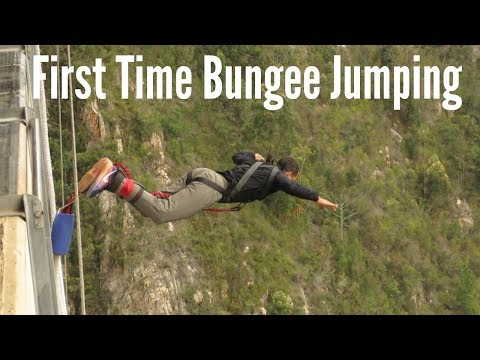 Bungee Jumping for the first time. OMG!