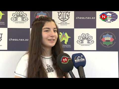 Şahmat üzrə qadınlar arasında Azərbaycan çempionatının altıncı turunun oyunları olub 1