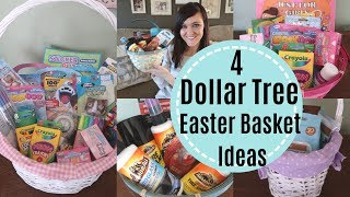 DOLLAR TREE EASTER BASKETS | EASTER BASKETS UNDER $20 | BUDGET FRIENDLY | NAME BRAND PRODUCTS