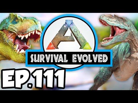 ARK: Survival Evolved Ep.111 - POISON DRAKE TAME ATTEMPT, 2 MEGAPITHECUS (Modded Dinosaurs Gameplay)
