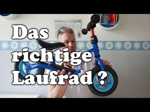 Welches LAUFRAD ist das Richtige? | Papas Vlog #7