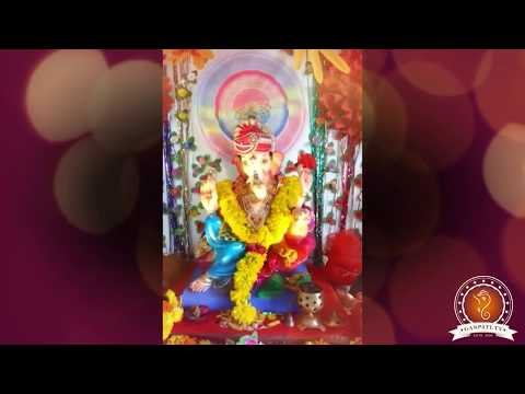 Janak Panchal Home Ganpati Decoration Video