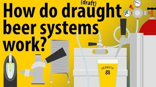 How Do Draught/Draft Beer Systems Work - Beer Taps Explained