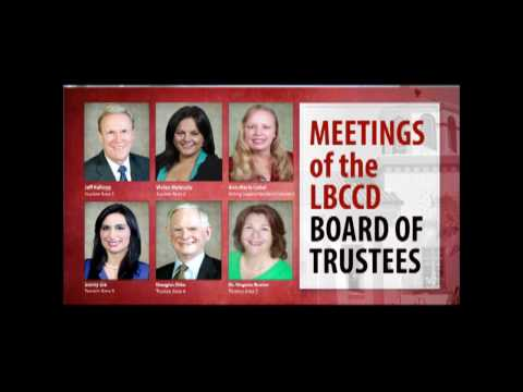 LBCCD - Board of Trustees Meeting - April 25, 2017