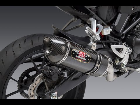 2019 Honda CB300R Exhaust Sound Stock vs. Yoshimura R-77 Slip-on