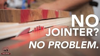 5 Ways to Joint a Board Without a Jointer