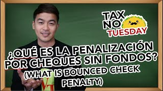 What is Bounced Check Penalty