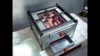 Smokeless Charcoal Stove