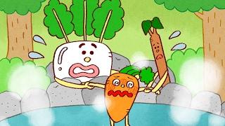 絵本にんじんだいこんごぼう読み聞かせ野菜が好きになる!日本昔ばなし