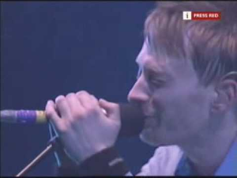 Radiohead - Idioteque [Glastonbury 2003]