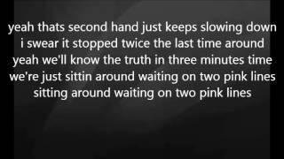 Eric Church - Two Pink Lines with Lyrics