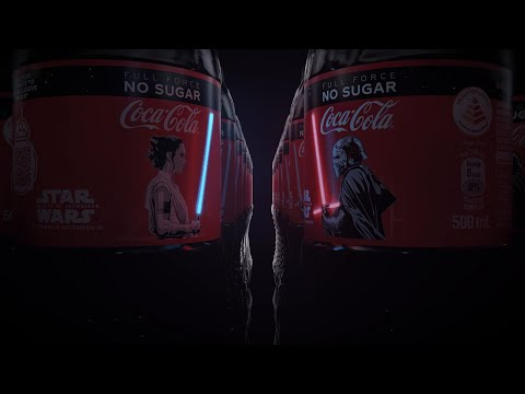 可口可樂 X 星際大戰9天行者的崛起 推出OLED光劍瓶身款