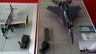 preview picture of video 'Aero maquette 52 Saint Dizier, Exposition Montier en der 03/2015'