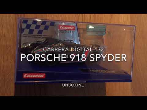 *PORSCHE 918 Spyder - Limited Edition (Martini Racing) * Carrera Digital 132 Unboxing